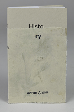 History paperback with custom jacket