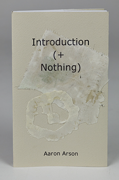 Introduction (+Nothing) paperback with custom jacket